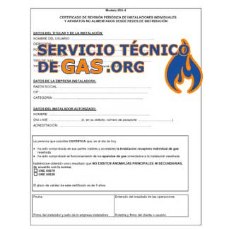 Certificados de Gas Natural Algar